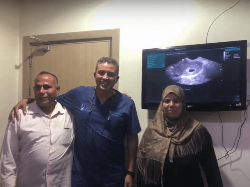 حالة تأخر حمل تم علاجها بواسطة فريقنا الطبي