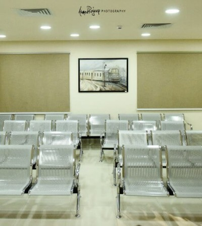 غرفة إنتظار مستشفي بداية