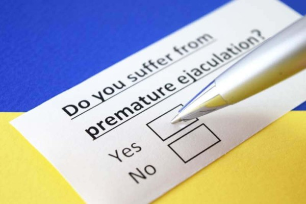 Premature ejaculation problem